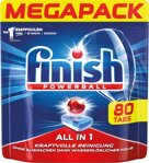 Finish Megapack Spülmaschinentabs All in 1 Plus, 80 St