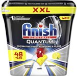 Finish XXL Spülmaschinentabs Quantum Ultimate Citrus, 48 St