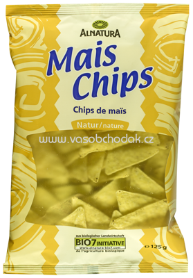 Alnatura Mais Chips natur, 125g