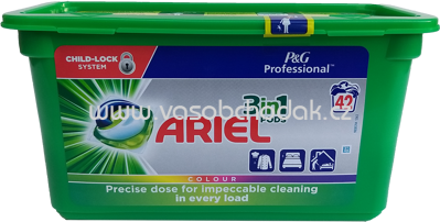 Ariel Professional Colorwaschmittel 3in1 PODS Color, 42 Wl
