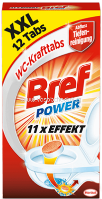 Bref Power Wc Kraft Tabs, 12 St