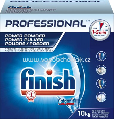 Finish Professional Calgonit Power Pulver, 10 kg