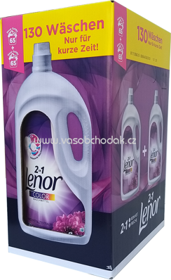 Lenor Color Gel 2in1 Amethyst Blütentraum, 2x3,575 l, 130 Wl
