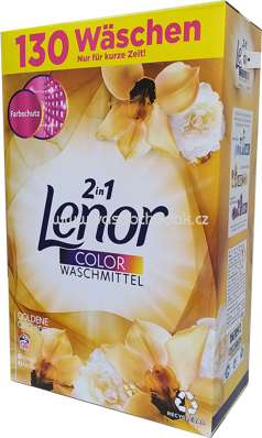 Lenor Color Pulver 2in1 Goldene Orchidee, 8,45 kg, 130 Wl