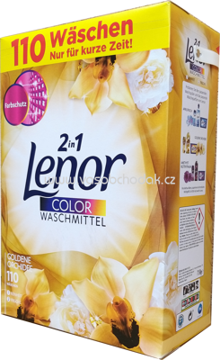 Lenor Color Pulver 2in1 Goldene Orchidee, 7,15 kg, 110 Wl