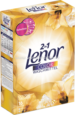 Lenor Color Pulver 2in1 Goldene Orchidee, 1,04 kg, 16 Wl