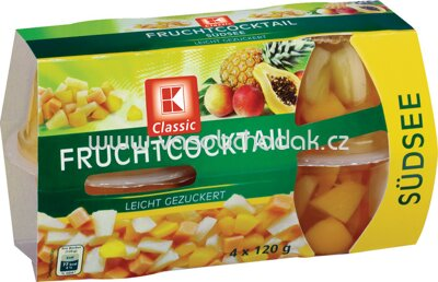 K-Classic Fruchtcocktail Südsee 4x120g