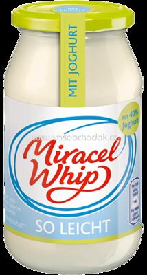 miracel whip mit joghurt so leicht 500ml. Black Bedroom Furniture Sets. Home Design Ideas