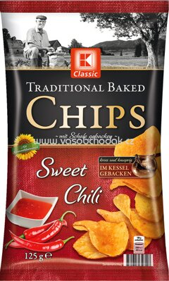 K-Classic Traditional Baked Chips Sweet Chili 125g