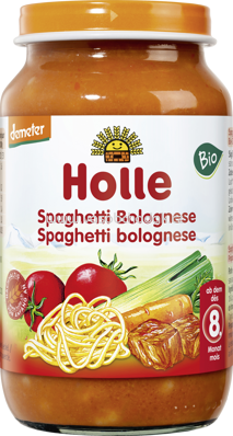 Holle baby food Spaghetti Bolognese, ab 8.Monat, 220g