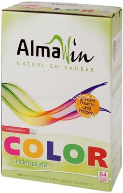Almawin Color Waschpulver, 64 Wl, 2 kg - ONL