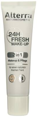 Alterra NATURKOSMETIK 24h Fresh Make-up 01 Light, 30 ml
