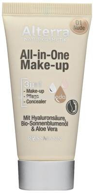 Alterra NATURKOSMETIK All-in-one Make-up 01 Nude, 30 ml
