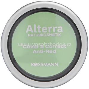 Alterra NATURKOSMETIK Cover & Correct Anti-Red 01 Green, 4 g
