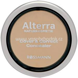 Alterra NATURKOSMETIK Cover & Correct Concealer 02 Sand, 4 g