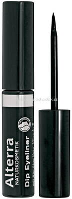 Alterra NATURKOSMETIK Dip Eyeliner 01 Black, 3 ml