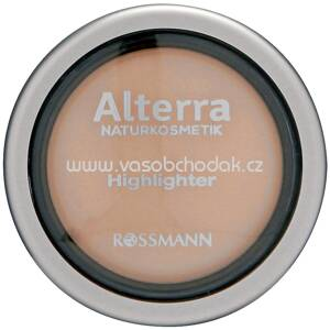 Alterra NATURKOSMETIK Highlighter 01 Shiny, 4 g