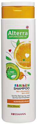Alterra NATURKOSMETIK Familienshampoo Bio-Orange & Bio-Kiwi, 300 ml