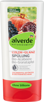 Alverde NATURKOSMETIK Spülung Color Glanz, 200 ml
