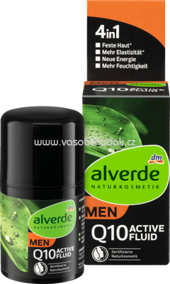 Alverde NATURKOSMETIK Active Fluid 4in1, 50 ml