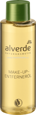 Alverde NATURKOSMETIK Make-up-Entferneröl, 100 ml