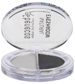 benecos Natural Duo Eyeshadow Shady Grays, 1 St
