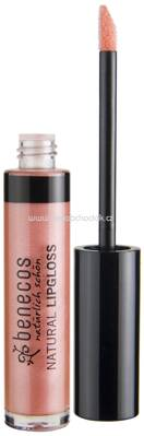 benecos Natural Lipgloss Rosé, 5 ml