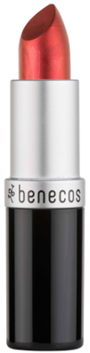 benecos Natural Lipstick Dark Red, 4,5g