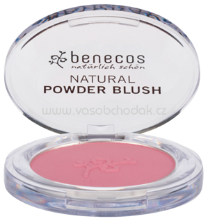 benecos Natural Compact Powder Blush Mallow Rose, 5,5 g