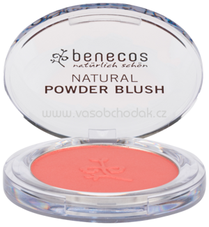 benecos Natural Compact Powder Blush Sassy Salmon, 5,5 g