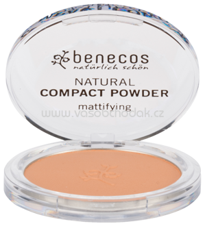 benecos Natural Compact Powder Beige, 9 g