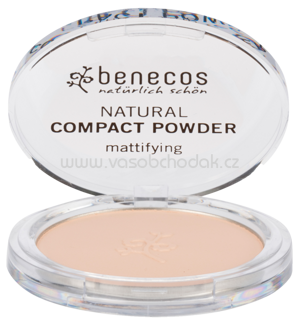 benecos Natural Compact Powder Porcelain, 9 g