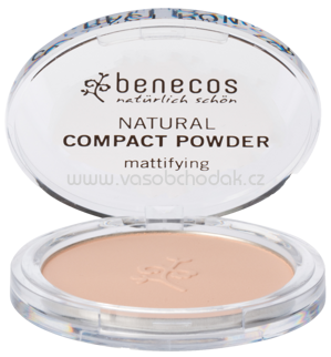 benecos Natural Compact Powder Sand, 9 g