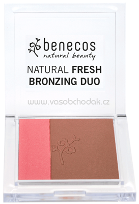 benecos Natural Fresh Bronzing Duo California Nights, 8 g