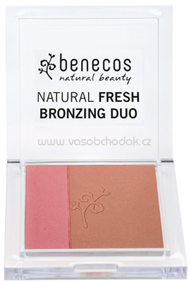 benecos Natural Fresh Bronzing Duo Ibiza Nights, 8 g