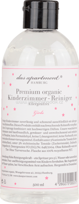 Das apartment Kinderzimmer-Reiniger organic Girls, 0,5 l - ONL