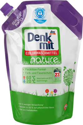 Denkmit Colorwaschmittel nature, 23 Wl