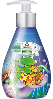 Frosch Pflegeseife sensitiv Kinder, 300 ml