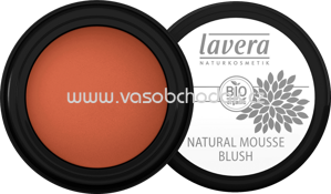 Lavera Natural Mousse Blush Soft Cherry 02, 4 g