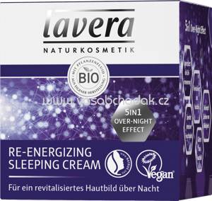 Lavera Nachtcreme Re- Energizing Sleeping Cream, 50 ml