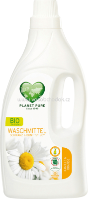 Planet Pure Bio Waschmittel Color & Black Kamille Orange, 38 Wl - ONL