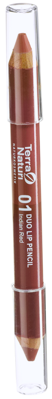 Terra Naturi Duo Lip Pencil 01 Indian Red, 4,2 g