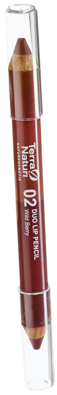 Terra Naturi Duo Lip Pencil 02 Wild Berry, 4,2 g