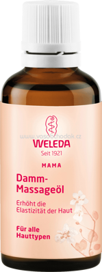 Weleda Damm-Massageöl, 50 ml