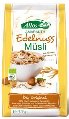Allos Amaranth Edelnuss Müsli 375g