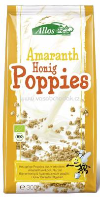 Allos Amaranth Honig Poppies 300g