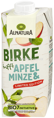 Alnatura Birke Apfel & Minze, 750 ml