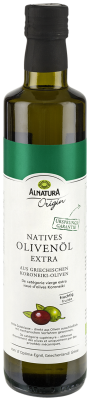 Alnatura Origin Natives Olivenöl extra, 500 ml