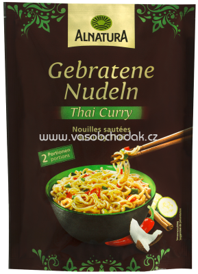 Alnatura Gebratene Nudeln Thai-Curry, 125g