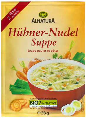 Alnatura Hühner Nudel Suppe, 38g